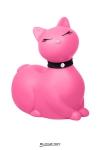 I Rub My Kitty Travel - rose - Après le canard mondialement connu, Big Tease Toys nous présente le chat, coloris rose!
