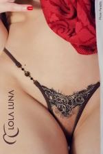 String Natacha : String Lola Luna, composition sensuelle et érotique esprit haute couture.