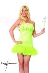 Costume sexy Elfe - Costume d'Elfe : robe à jupon, baguette magique et serre-tête.