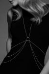 Chaine de corps en 8 argentée - Des chaines corporelles en forme de 8 à porter avec vos looks préférés, de la lingerie ou à même le corps, collection Magnifique par Bijoux Indiscrets.