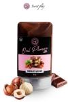 Lubrifiant comestible chocolat-noisette - Lubrifiant 100% comestible au parfum chocolat-noisette signé de la marque Espagnole Secret Play.