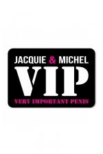 Plaque de porte J&M VIP