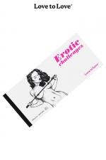 Chéquier Erotic Challenges : 20 Challenges à partager pour des moments très érotiques. Carnet dessiné par Apollonia Saintclair pour Love to Love.