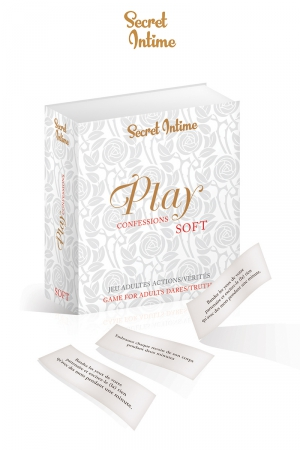 Jeu play confession Soft - Explorez votre sensualité à travers des confessions intimes et des gages sexy dans leur version Soft.
