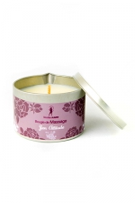 Bougie de massage zen Attitude : Bougie de massage parfum Zen Attitude fabriquée en France pour des moments sensuels.