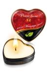 Mini bougie de massage Sans parfum - Bougie de massage sensuelle et gourmande au format idéal pour un massage tout en douceur sans odeur artificielle.