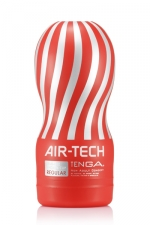 Masturbateur réutilisable Tenga Air-Tech Regular : Masturbateur Tenga Air-Tech , une stimulation unique et incroyable, répétable encore et encore.