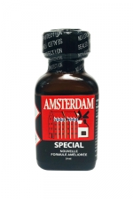 Poppers amsterdam special 24 ml : Le poppers Amsterdam SPECIAL en flacon de 24 ml dans une nouvelle formule améliorée.
