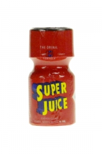 Poppers Super Juice 10 ml : Poppers en flacon petit format,bouchon sécurisé, contenant un arôme liquide érotique puissant et longue durée à base d'Amyle.