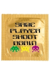Préservatif humour - Same Player Shoot Again - Préservatif