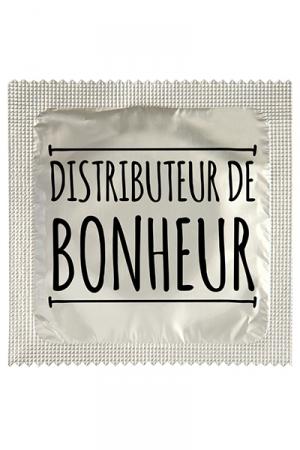 Préservatif humour - Distributeur De Bonheur - Préservatif