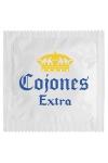 Préservatif humour - Cojones Extra - Préservatif